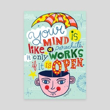 Your Mind - Canvas by Nate Williams