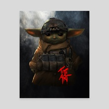 TACTICAL_YODA - Canvas by titiartist
