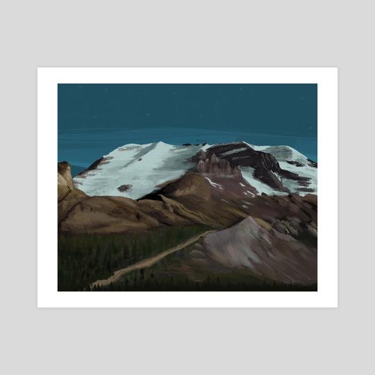 Mountain Snowside by Anais Cantres