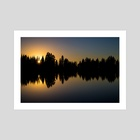 Nature's Mirror - Art Print by Brian Fisher