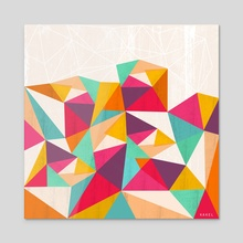 Diamond - Acrylic by Kakel