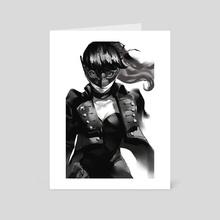 Kasumi - Art Card by blazpu