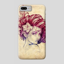 Art Nouveau Floral - Phone Case by Peter Brockhammer