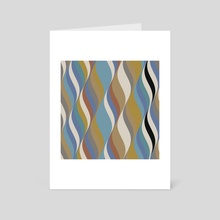 Waves 21 - Art Card by Chris Foulkes