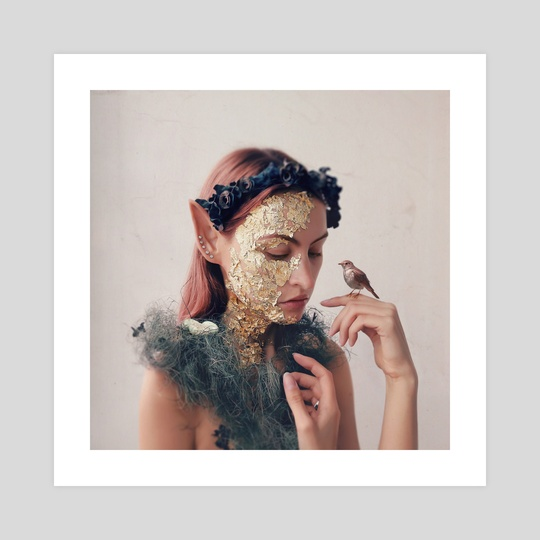 The Dryad by Anastasia Roschina-Kulakova