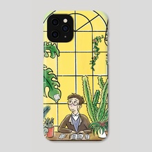 Hermann's Office - Phone Case by Joolie Comix