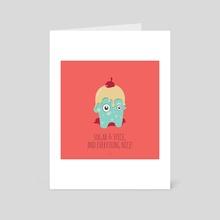 sugar monster's ALMARICA_Stuart - Art Card by Mariana Mattos