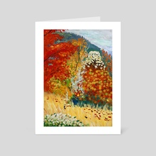 Fairwell Autumn - Art Card by Vincent Chen