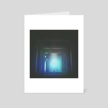 the tunnels - Art Card by drewmadestuff