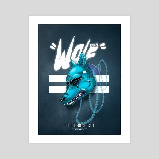 Wolf Mask#1 by Hitokiri  Collective