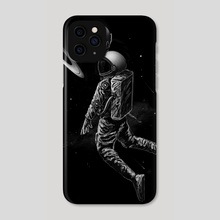 Saturn Dunk - Phone Case by Nicebleed