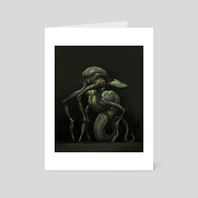 Alien - Art Card by Jaemin Kim