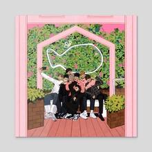 Kore's Home: Home - Acrylic by Ulsi