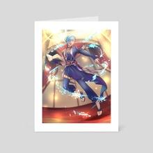 Performing Arts Shigure - Art Card by Flamingo Punch