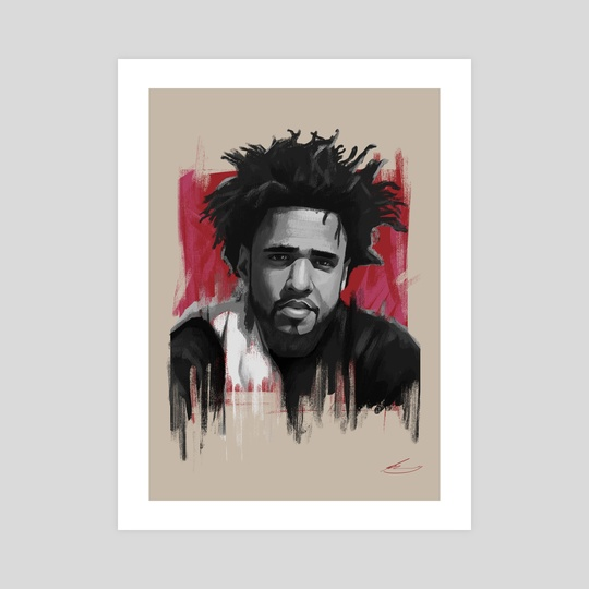 J Cole by rory taylor
