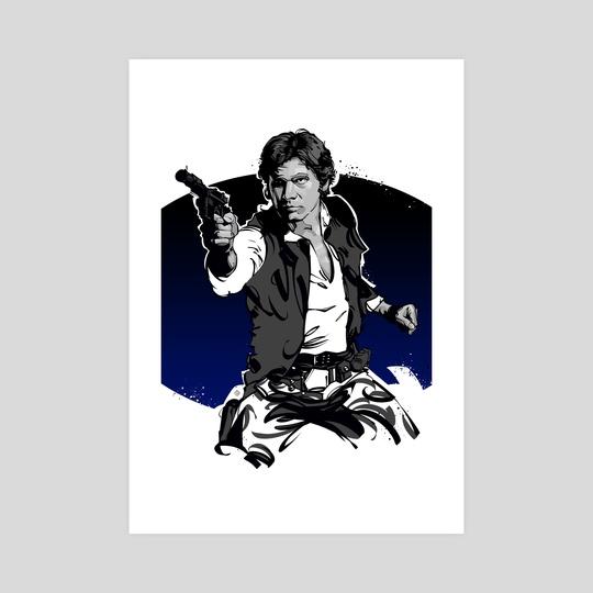 Han Solo by Nikita Abakumov