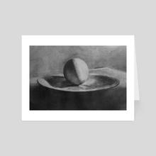 Egg - Art Card by burrowing hamster