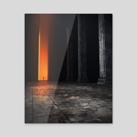 The Encounter I by Danel Iriarte