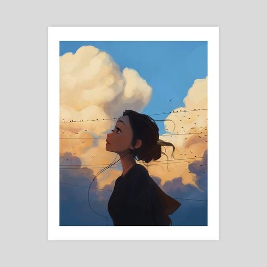 Floof Clouds by Sam Yang
