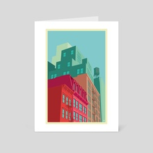 Mulberry street SOHO - Art Card by Remko Gap Heemskerk