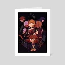 When They Cry (Umineko) - Art Card by taffy bun
