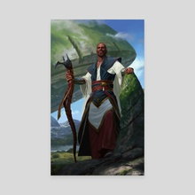 Teferi, Timeless Voyager - Canvas by Jake Murray Studio Ltd