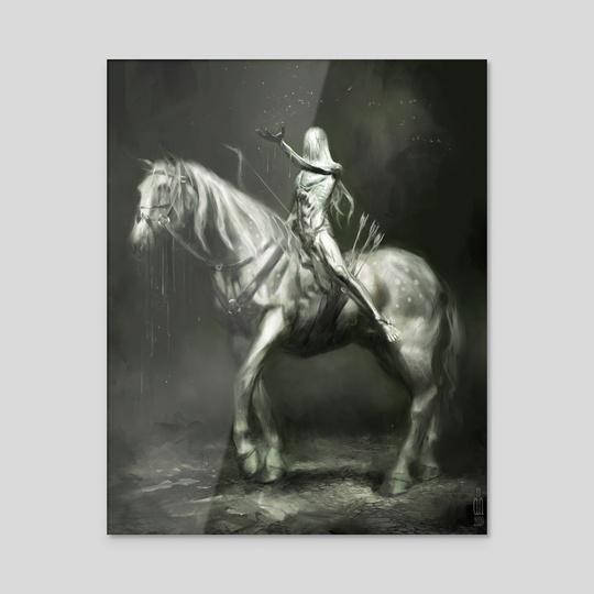 Horseman of Pestilence by Damon Hellandbrand