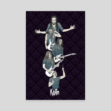 Korn - Canvas by Michael Odle