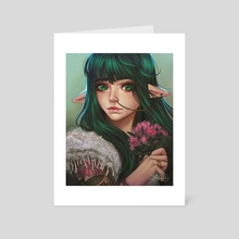 Emerald - Art Card by Amber Harris