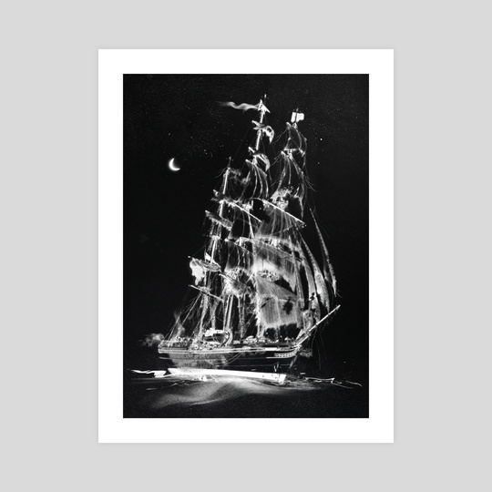The Sighting: Ghost Ship Design  by Andre Jones
