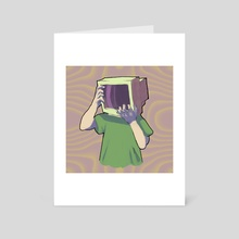 TV head ver. 2 - Art Card by doomaemon