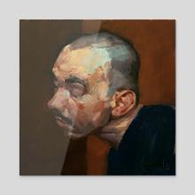 Tension - Acrylic by John Larriva