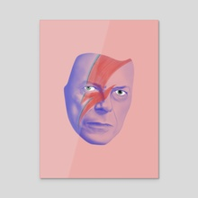 Bowie forever - Acrylic by Ferran Sirvent