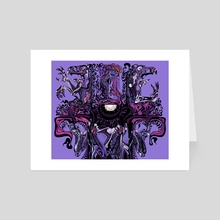 Mummu Tiamat - Art Card by X E L A  S O M A