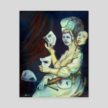 Disguise - Canvas by Delia Mihai