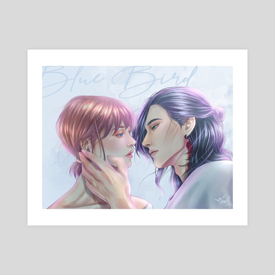 Print #5: If We Were In Love by MS.NA