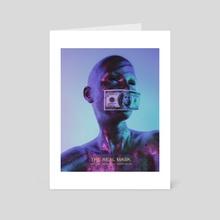 The real mask 2 - Art Card by Jianina Alondra
