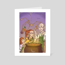 Family Recipe - Art Card by Christopher Tice