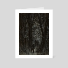 Dark Forest - Art Card by Dillon Samuelson