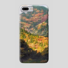 Autumn in the Oregon Coast Range - Phone Case by Jordan K Walker
