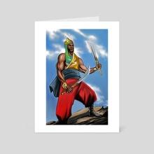 Rahman - Art Card by William Jamison