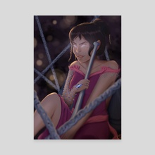 Theya - Canvas by Caroline Espinal