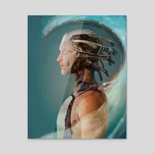 Phobetor - Acrylic by Lily Balazs