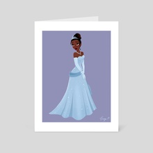 Evening Gown - Art Card by Georgie