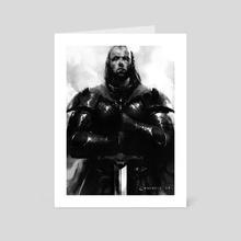 Warrior Priest - Art Card by Cos Koniotis