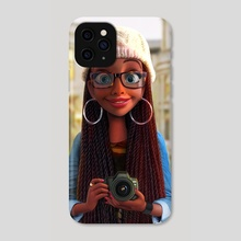 Brittany  - Phone Case by Art of Mervin