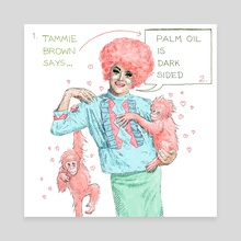Tammie Brown - Canvas by Robin Goodwin