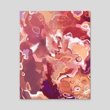 Joy - Acrylic by Kate Trish