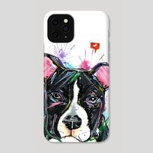 dog - Phone Case by edson ramos