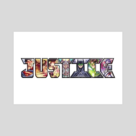 JUSTICE by Marcus 'MAS' Smith